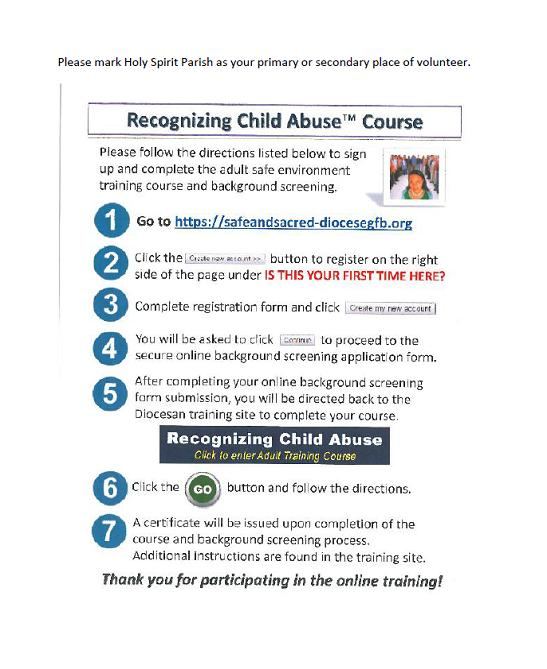recognizing-child-abuse-course-directions